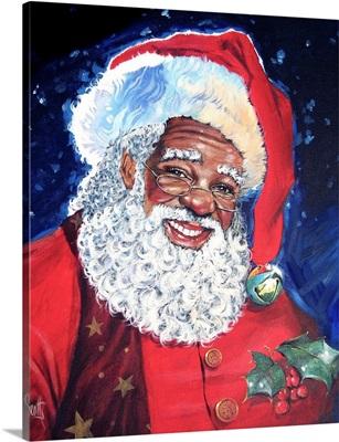 African American Santa