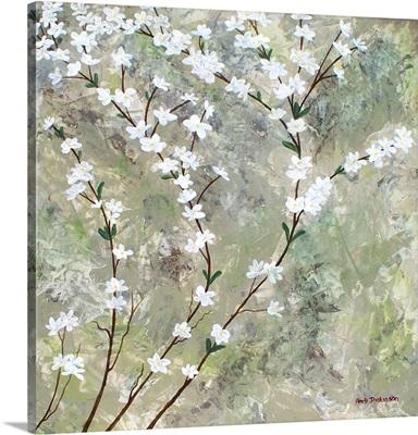 Pear Blossoms I