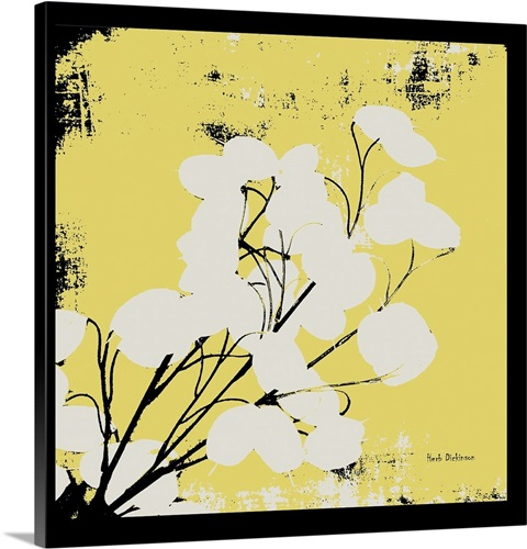 Yellow Money Plant Wall Art, Canvas Prints, Framed Prints, Wall ...