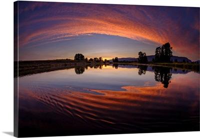 Canoe Sunset