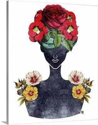 Flower Crown Silhouette III