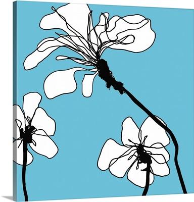 Flowers in Blue 1