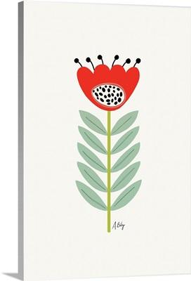 Mid Mod Flower No. 2