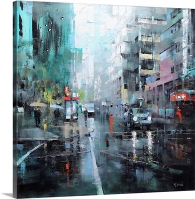 Montreal Turquoise Rain