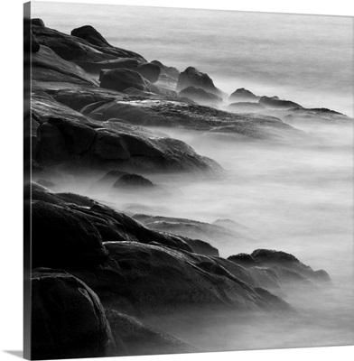 Rocks in Mist 1
