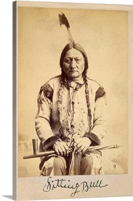 Sitting Bull - Lakota Sioux Tribe Chief, 1884