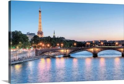 Twilight on the Seine