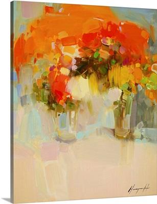 Vase of Yellow Flowers 2
