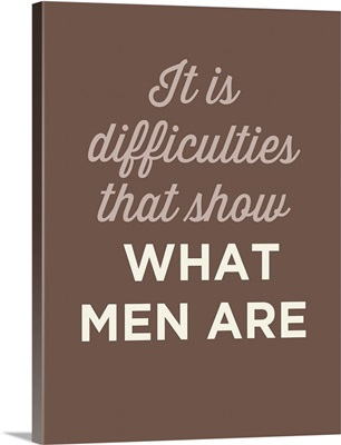 What Men Are