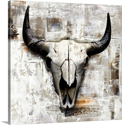 White Cowskull