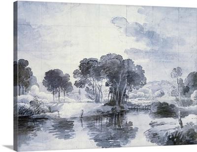 Periwinkle Pond I