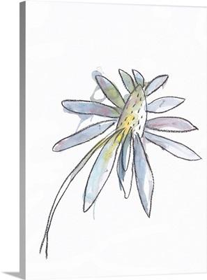 Aubergine Modern Botanical