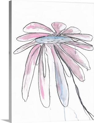 Lilac Modern Botanical