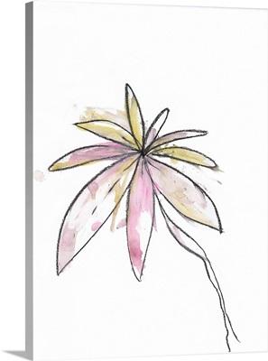 Pastel Modern Botanical