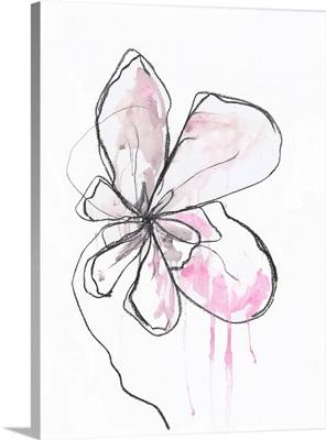 Pink Modern Botanical