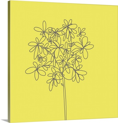 Yellow Happy Flower