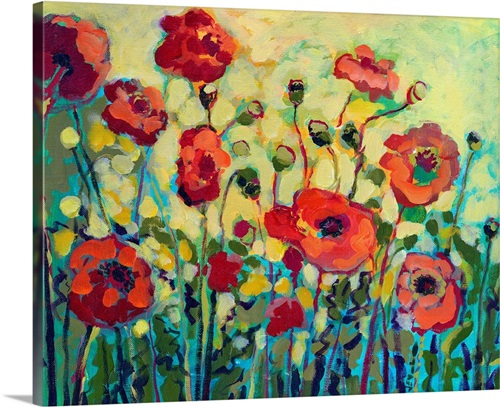 Anitas Poppies Wall Art Canvas Prints Framed Prints Wall Peels Great Big Canvas