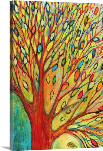 Rainbow Tree In Autumn Wall Art, Canvas Prints, Framed Prints, Wall ...