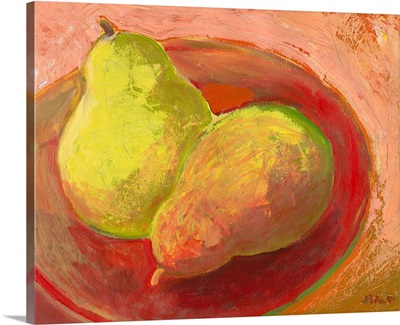 Two Pears in Repose