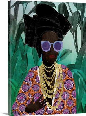 Afro Pop Queen Jungle