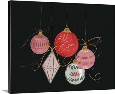All Is Calm Ornaments