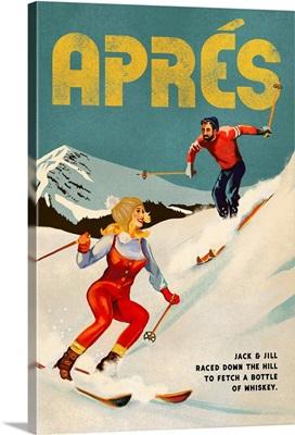 Apres Ski Jack And Jill Whiskey