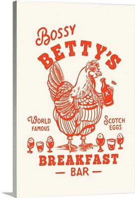 Bossy Betty Breakfast Bar