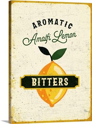 Botanical Gin Lemon Bitters
