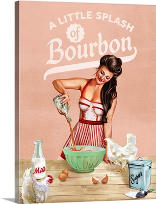 Bourbon Chickens Pinup