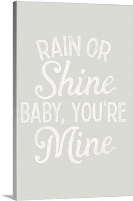 Dreamy - Rain Shine