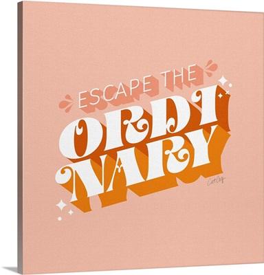 Escape The Ordinary - Blush Tangerine