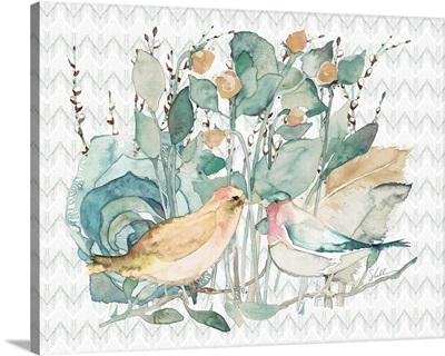 Garden Lovebirds