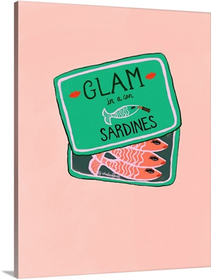 Glam In A Can Sardines