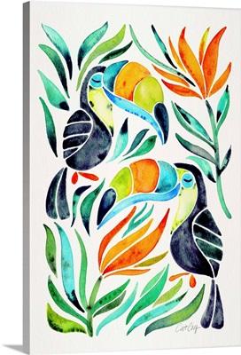 Green Toucans