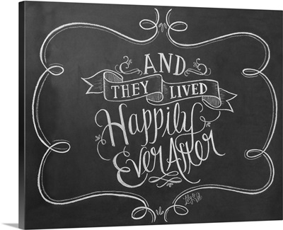 Happily Ever After Handlettering
