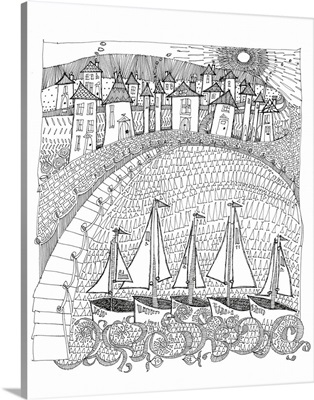 Harbor Coloring