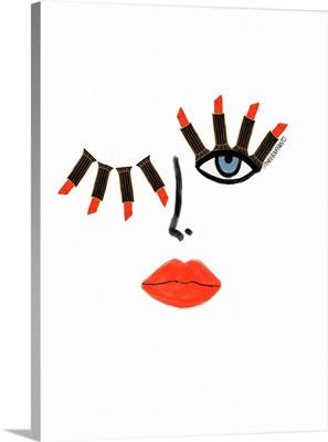 Lipstick Wink