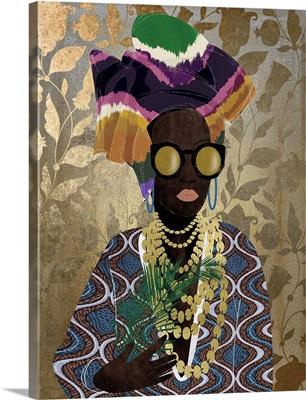 Modern Turban Queen Vintage