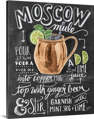 Moscow Mule Handlettering