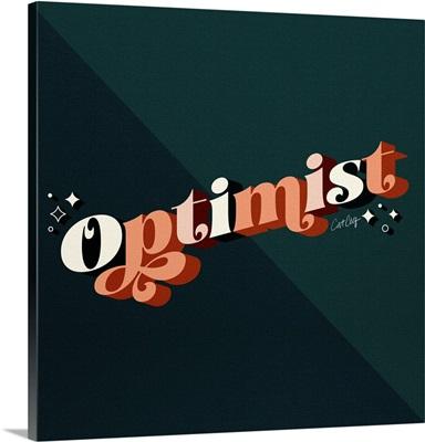 Optimist - Teal Peach