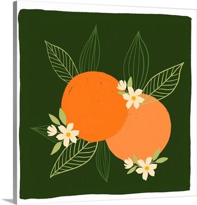 Oranges - Painted Oranges