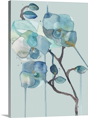 Orchid - Blue on Blue