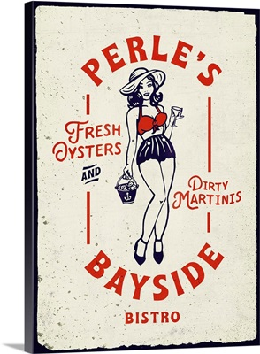 Oyster Tin Sign