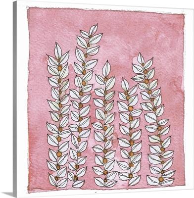 Pink Wallflowers