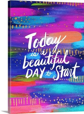 Start Today Brushstroke
