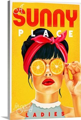 Sunny Shady Lady