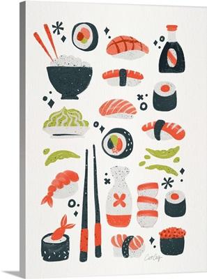 Sushi Dreams - White