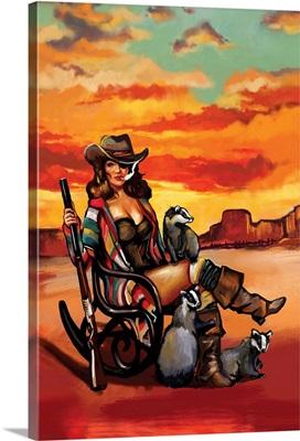 Tequila Sunrise Badger