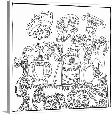 Three Kings Coloring