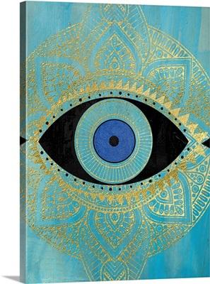 Tribal Eye Gold